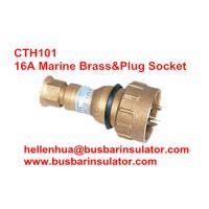10A/16A marine plug CTH101 brass explosion proof plug&socket 792886 IP56
