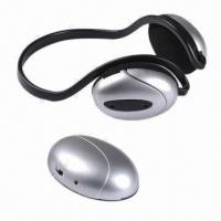 Wholesale Wireless Earphones/Headphones, Receiving Sound from TV/PC/iPod and FM Radio, 2-in-1 Functions from china suppliers