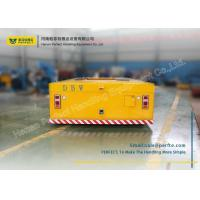 Quality Cargo Carriage Heavy Die Transfer Cart / Battery Powered Cart No Rail Multidirec for sale