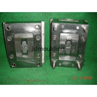 Wholesale S136, 1.2738 HASCO standard Precision Plastic Injection Lock Hot Runner Mould from china suppliers