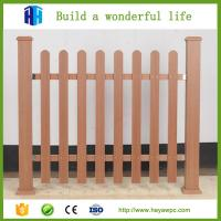 Buy cheap Wood plastic composite decking fence panels wpc decking in bulgaria from wholesalers
