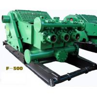 API Oilfield F-500 Horizontal 3 cylinder single acti piston Drilling Mud PUMP with reliable quality & competitive price