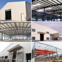 Wholesale Light Gauge Prefabricated Construction Steel Warehouse Building with Nice Design from china suppliers