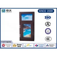 Customized Size Fire Resistant Windows With Single Sheet Fireproof Glass