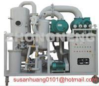 China 2 stage vacuum Transformer oil purifier/ oil purification/ oil filtration on sale