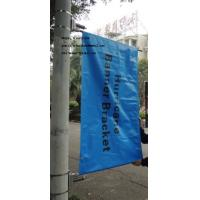China Custom Steel Banner Brackets for Light Pole Banners on sale
