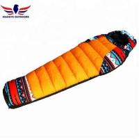 Wholesale National Style Portable Outdoor Duck Down Mummy Sleeping Bag for Outdoor Hiking from china suppliers