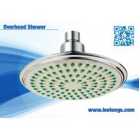 "Wholesale High Efficiency 6"" Single Function  Overhead Shower Head , Rainwater Shower Heads from china suppliers"