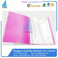 Wholesale A4 clear book display book from china suppliers