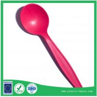 Wholesale Red color biodegradable corn starch spoons from china suppliers