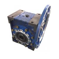 worm gear box reducer with iron box and aluminium flange cover