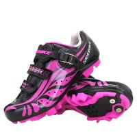 China Self Locking Ladies Cycle Touring Shoes , Womens Mountain Bike Cycling Shoes on sale