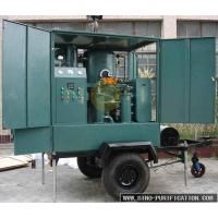 Wholesale Transformer Regeneration Oil Purification Machine , Outdoor Trailer Vacuum Oil Filter Machine from china suppliers