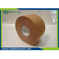 Buy cheap 3.8cmx13.7m Latex free zinc oxide athletic rigid strapping tape viscose sports from wholesalers