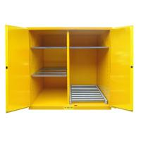 Wholesale Flammable Drum Storage Cabinets , Gasoline Storage Cabinets 2 Door For Oil Tank Drum from china suppliers