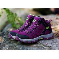 High Top Ankle Comfortable Athletic Shoes Round Toe Ladies Hiking Trainers