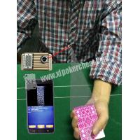 Buy cheap Button Auto Sensor Poker Cheating Camera Poker Scanner For Dealer / Player from Wholesalers