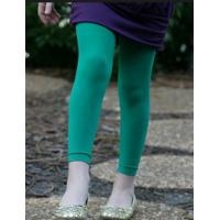 Wholesale Breathable Opaque Footless Tights , Green Nine Minutes Of Pants For Girls from china suppliers