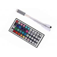 Buy cheap Mini IR Remote RGB LED Strip Controller 72W 44Keys SMD 5050 Smooth Change from wholesalers