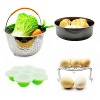 China Amzon Hot Sell 10 pcs Silicone Various Combination Kitchen Pot Accessories Set Inculde Non-Stick Cake Pan, Egg Bites Molds, etc on sale