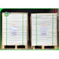China Size 600mm Smoothness No Spots 60gsm Exercise Book Paper In Reels / Reams on sale