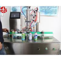 China Semi-automatic under cap vacuum filling machines, Freon Gas Filling Equipments on sale