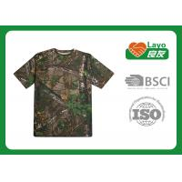 L-57 Anti Bacterial Womens Camo T Shirt Outdoor For Bodybuilding