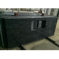 Wholesale Blue Pearl Granite Island Top Granite Stone Countertops Anti - Scratch 37 X 96 Size from china suppliers
