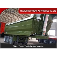 Wholesale 3 Axles 30 Cubic Meters Stone Dump Semi Trailer from china suppliers