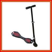China Kick Scooter New Foldaway Wave Board Scooter Street Surfing Scooter on sale