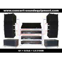 China 480W Line Array Speaker Sound System ,With1.4+2x10 Neodymium Drivers And Built-in Crossover on sale