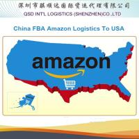 Wholesale sea freight rates guangdong/china to usa amazon fba professional Amazon cargo agent service in China from china suppliers