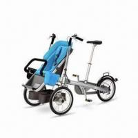 China Innovative Tricycle Stroller for Children's, with Roller Brake on Later Wheel on sale