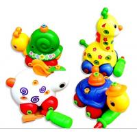Wholesale Ocean Animals Colorful beads wooden Rack-education toy from china suppliers