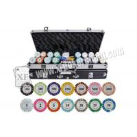 Buy cheap ISO 9001 Casino Cheating Devices Customized Crown Chips With Ceramic / Clay from Wholesalers