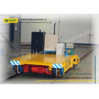 Wholesale Warehouse Transferring Flat Rail Guided Vehicle , Cargo Heavy Duty Cart Trolley from china suppliers