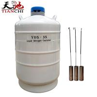 China TIANCHI Liquid Nitrogen Container YDS-35B Stainless Steel Storage Tank Price on sale