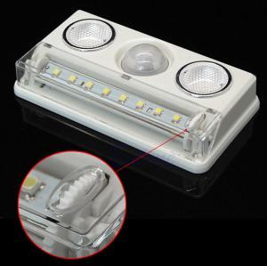 China Indoor PIR Passive Infrared Motion Detector USB Adjustable Brightness on sale