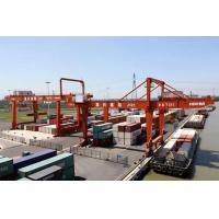 Wholesale Automatic Electric Shipping Container Crane , Heavy Working Duty Port RMG Crane from china suppliers