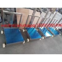Movable Bench Weighing Scale With Wheels / Back Rail 60 X 80cm 500kg ROHS Approved