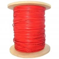 Wholesale 0.22mm2 Bare Copper Fire Alarm Cable Shielded in Red FRLS PVC from china suppliers