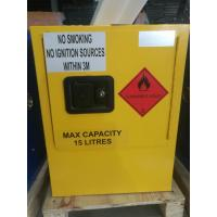 Wholesale Yellow Dangerous Goods Cabinets For Liquid , Industry Paint Safety Storage Cabinets from china suppliers