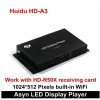 Wholesale High Quality Huidu HD-A3 with Built-in WiFi Asynchronization Full Color LED Video Card, Wifi RGB LED Controller Card from china suppliers