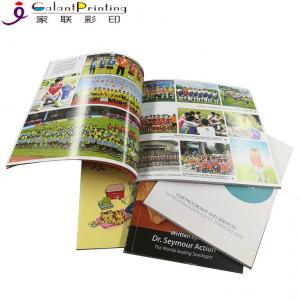 Offset Printing Full Color Booklet Printing  / Leaflet Magazine Booklet Printing