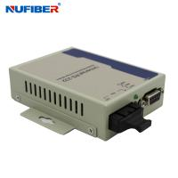 Wholesale GM218MM-C2 Fiber to Serial Converter RS232 to Fiber Converter Duplex MM 1310nm 2KM SC Fiber Converter from china suppliers