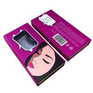 Wholesale Folding Magnetic Luxury Cardboard Box With Logo False Eyelashes Packaging from china suppliers