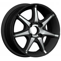 Buy cheap Black Chrome 13 Inch Alloy Wheels 13x5.5 4 Holes for Car KIN-318 from Wholesalers