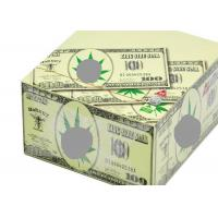 China Hornet Dollar Pattern Cigarette Paper Roll Slow Burning Style Translucent on sale