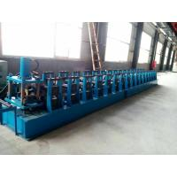 Wholesale GI. Carbon Steel Top Hat Channel Roll Forming Machine With 1.5 Inch Chain of Transmission from china suppliers