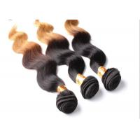 Body Wave Two tone color hair extensions , Brazilian Grade 7A Virgin Hair